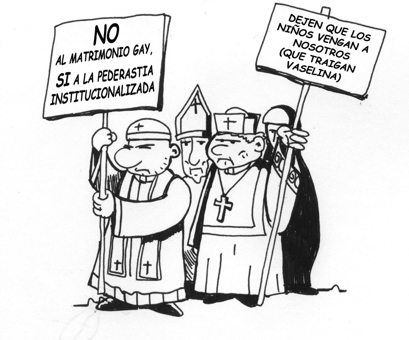 Matrimonio Gay Católico : Delincuencia organizada diario de un racionalista